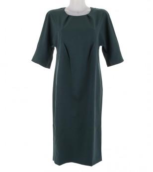 Тъмнозелена рокля Gladis