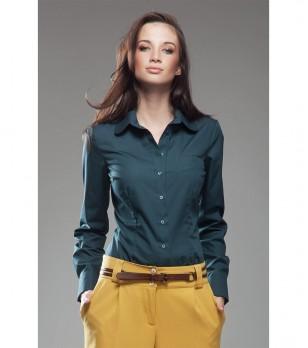 Дамска риза в зелен нюанс Gardenia