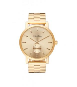 Златист дамски часовник Aura
