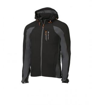 Мъжко яке в черно и сиво Montrose