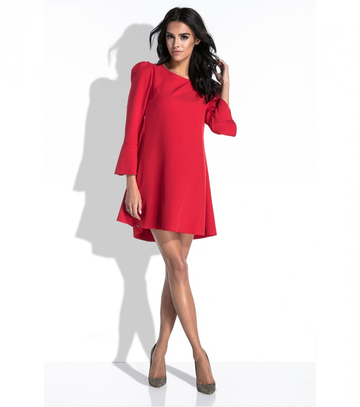 Червена рокля Tina