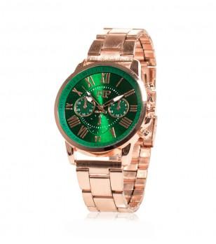 Дамски часовник в розово-златист цвят