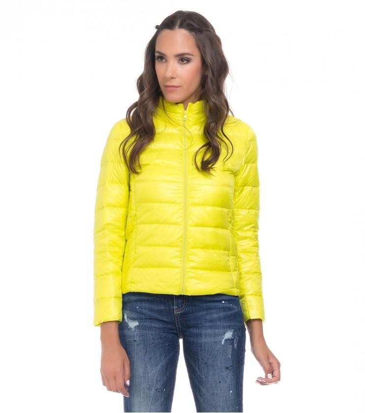 Жълто дамско яке Carlie