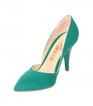 Дамски обувки Dulcinea в синьо-зелен нюанс
